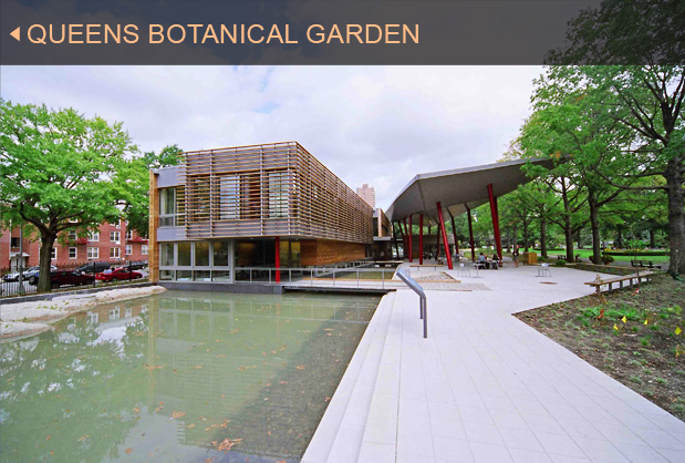 Green Building Gallery Queens Botanical Garden Clivus Multrum Inc Projects Portfolio
